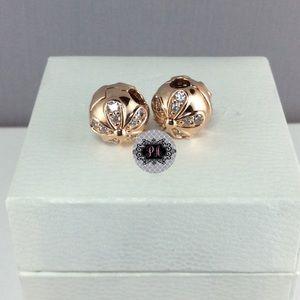 7f63c1351 Pandora Jewelry   2 New Rose Dazzling Daisies Clips   Poshmark